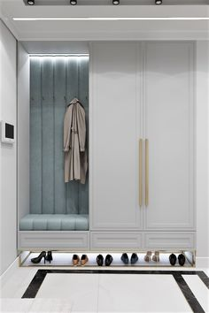 Entrance Hall Decor, House Entrance, Entryway Decor, Home Room Design, Home Interior Design, House Design, Flur Design, Appartement Design, Wardrobe Design Bedroom
