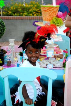 Alice in Wonderland, Mad Tea Party Birthday Party Ideas | Photo 2 of 36