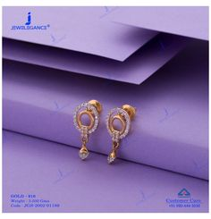 Gold Jhumka Earrings, Gold Bridal Earrings, Jewelry Design Earrings, Gold Earrings Designs, Gold Mangalsutra, Small Earrings, Antique Earrings, Necklace Designs, Gold Necklace