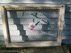 13 Repurposed Window Projects {a baker's dozen}