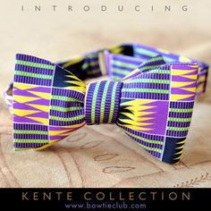 Introducing our exclusive Kente Collection. http://www.bowtieclub.com/collections/new-bow-ties (Volta)  #bowtie #bowties #silk #americanmade #kente #gentlemen
