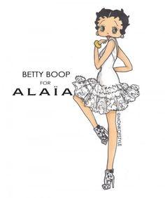Jerome Lamaar Betty Boop for Alaia