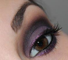 p2 Ultra Matte Eye Shadow 040 purple clutch & 060 black briecase | Talasias Dreamz