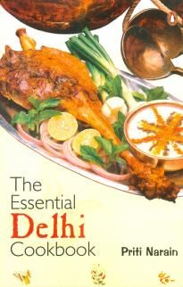"The Essential Delhi Cookbook by Priti Narain, is a great book for puloas, meats and other ""Delhi"" dishes"