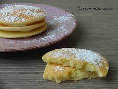 Pancakes con farina di riso Cucina vista mare