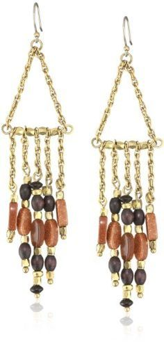 Lucky Brand Stone Tassel Chandelier Earrings Lucky Brand. $23.99. Made in China. Made in CN