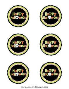 Free Printable Happy Halloween Tags
