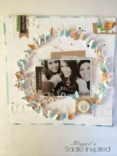 Sadie Inspired: Another mambi Monday - Dimensional Friendship Layout