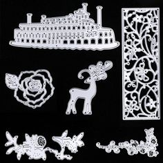 New DIY Cutting Dies Novelty Stencil Craft Album Scrapbooking Paper Card Diary #Unbranded