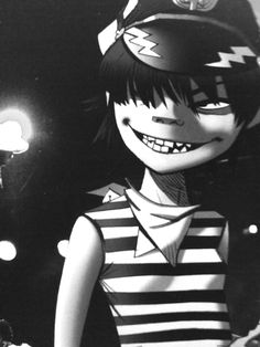 "lollipopandroid: "" The cyborg was more Murdoc than she was Noodle. """