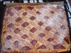 Linecký - mřížkový koláč