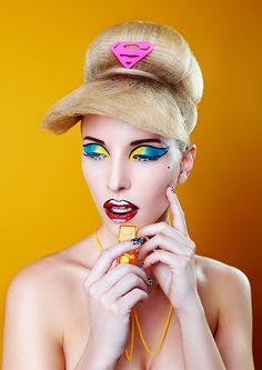 #hair #popart #style, #fashion  #makeup #haircollection #2016, #magazine #trends, #colorful #avant-garde