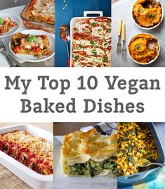 10 great Vegan Baked Dishes - Round Up      |     Organize your favourite recipes on your iPhone or iPad with @RecipeTin! Find out more here: www.recipetinapp.com      #recipes #vegan