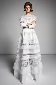 Long sleeve wedding dresses are the picture of bridal perfection. Browse the long sleeve wedding dresses we love. Bohemian Wedding Dresses, Bridal Dresses, Wedding Gowns, Wedding Tuxedos, Fall Wedding, Long Sleeve Wedding, Wedding Dress Sleeves, Bridal Collection, Dress Collection