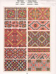 (1) Gallery.ru / Фото #77 - Взори вишивок домашного промислу на Буковині - bdancer Cream Carpet, Thread Art, Needlepoint, Palestinian Food, Folk, Weaving, Creatures, Kids Rugs, Embroidery