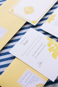 Champagne and Ink /// Letterpress RSVP /// http://www.champagneandink.com