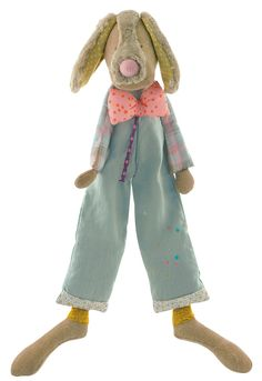 Jean - Jean the Dog - Les Tartempois - Moulin Roty Available at BonjourPetit.com #circus #acrobats