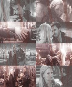 Emma and Hook - Captain Swan