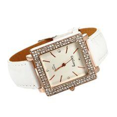 $5.39 (Buy here: https://alitems.com/g/1e8d114494ebda23ff8b16525dc3e8/?i=5&ulp=https%3A%2F%2Fwww.aliexpress.com%2Fitem%2FWholesale-Crystals-Quartz-Watch-Leather-Wristwatch-Charm-Women-Hours-Clock-Free-Shipping%2F1214123896.html ) GOGOEY Charm Luxury Crystals Quartz Watch Leather Strap Watch Women Fashion Watches Hours Clock reloj mujer relogio feminino for just $5.39