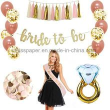 Rose Gold Bridal Shower Decorations bachelorette gifts Bride To Be Rose Gold Confetti balloons bachelorette party supplies (Bride to be GOLD GLITTER BANNER) Bachelorette Decorations, Bachelorette Party Supplies, Wedding Venue Decorations, Bachelorette Party Favors, Bridal Shower Decorations, Bachelorette Weekend, Gold Bridal Showers, Bridal Shower Party, Bride To Be Banner