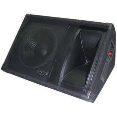 600 Watt 12'' Two-Way Stage Monitor Speaker System