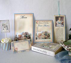Jane Austen Party Kit Wedding Birthday Bridal by PartyEverAfter, $15.00