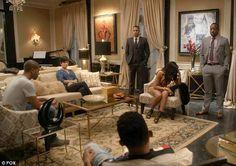 'Empire' set & cast