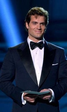 (Henry Cavill) The Man of Steel - I loved him in the Tudors when he was a bad boy