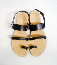 Sandals - Handmade Greek Style Leather Sandals in Variety of colours