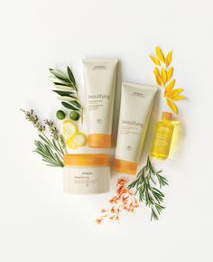 So beautifying, so nourishing. Enjoy the uplifting aroma of our classic Beautifying in Composition, Body Moisturizer, Creme Cleansing Oil and Radiance Polish.