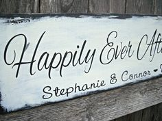 Happily Ever After Starts Here  Vintage Shabby by CastleInnDesigns, $29.95