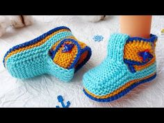 Knit Baby Dress, Baby Knitting, Slippers, Shoes, Dresses, Youtube, Fashion, Boots, Amigurumi