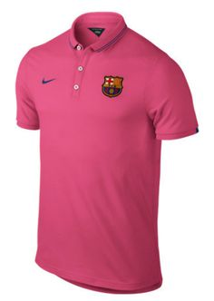 Barcelona League Authentic Polo Pink FC Barcelona Official Merchandise Available at www.itsmatchday.com