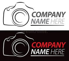 Illustration about A photography logo of a camera on an isolated or black background. Illustration of icon, camera, drawing - 28458964 Photography Name Logo, Icon Photography, Black Photography, Camera Logo, Camera Art, Camera Drawing, Logo Inspiration, Logos Ideas, Texture Painting On Canvas
