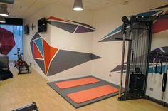 Projet réalisé par Different DE / Salle de sport TOUR PB5 - Puteaux (92)