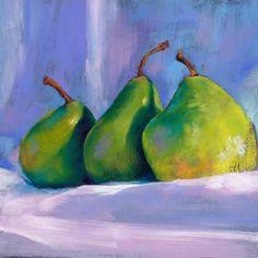 Eavesdropping, painting by artist Brenda Ferguson Art Painting Gallery, Artist Gallery, Pastel Landscape, Still Life Fruit, Still Life Drawing, Fruit Art, Small Art, Online Art Gallery, Oil Paintings
