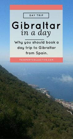 Europe, UK, Gibraltar, Spain - Why you should book a day trip to Gibraltar from Spain.