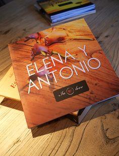 """Se casaron este verano e hicieron una boda preciosa. Muchas gracias por vuestra generosidad y gracias a todos los colaboradores por su trabajo. """"Elena y Antonio in love""""."""