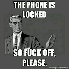 Cellphone lock screen