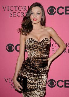 More Pics of Miranda Kerr Print Dress