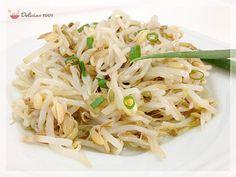 Salada de moyashi (broto de feijão)  Salvar Imprimir Você vai precisar de: 3 xícaras de broto de feijão 1 litro de água 1 colher (sopa) de vinagre de vinho branco 1 colher (sopa) de shoyo 2 c…