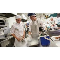 Two students from St John's College scooped the grand prize in the final of the National Secondary Schools Culinary Challenge (NSSCC) and are on their way to Sydney St Johns College, Secondary Schools, St John's, Sydney, Students, Challenge, Study, Studio, Investigations