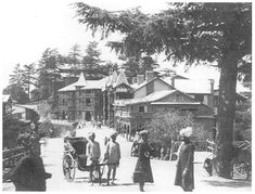 "Shimla provided an escape from heat & the native culture of the plains: its atmosphere was that of an oversized English club. No Indians were allowed on the mall except for some hours at night. The mall became a premier promenading area. Durga Das, a noted journalist and editor in Shimla, observed: ""The mall was a special European preserve. No load carrying porter was permitted to use it, nor any ill dressed Indian either.  http://www.kirstenmckenzie.com/"