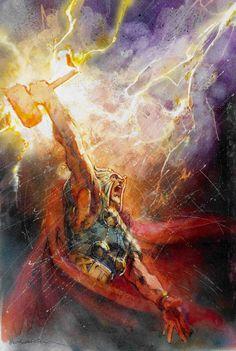 Thor by Bill Sienkiewicz