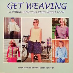 Get Weaving Clothing From Your Rigid Heddle Loom. Make clothes from your hand woven fabrics. Weaving, cutting and making included
