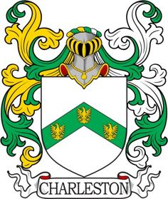 Charleston Family Crest and Coat of Arms