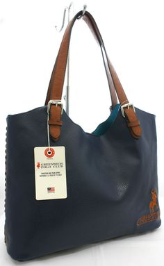 Borsa sacca Grande woman bag Beverly Hills Polo Club Art PG -04D  Blu