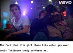It really does. And the part where the girl turned down Niall I mean COME ON