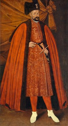 Portrait of King Stephen Bathory by Anonymous Painter, 1st half of the 17th century (PD-art/old), Zamek Królewski w Warszawie (ZKW)