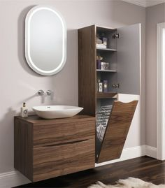 taupe fliesen und kaltwei es led licht im bad badezimmer pinterest bathroom modern. Black Bedroom Furniture Sets. Home Design Ideas